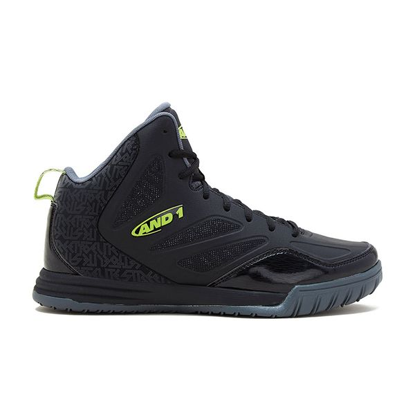 Zapatillas-Basketball-AND1-Tactic-Black-Lime