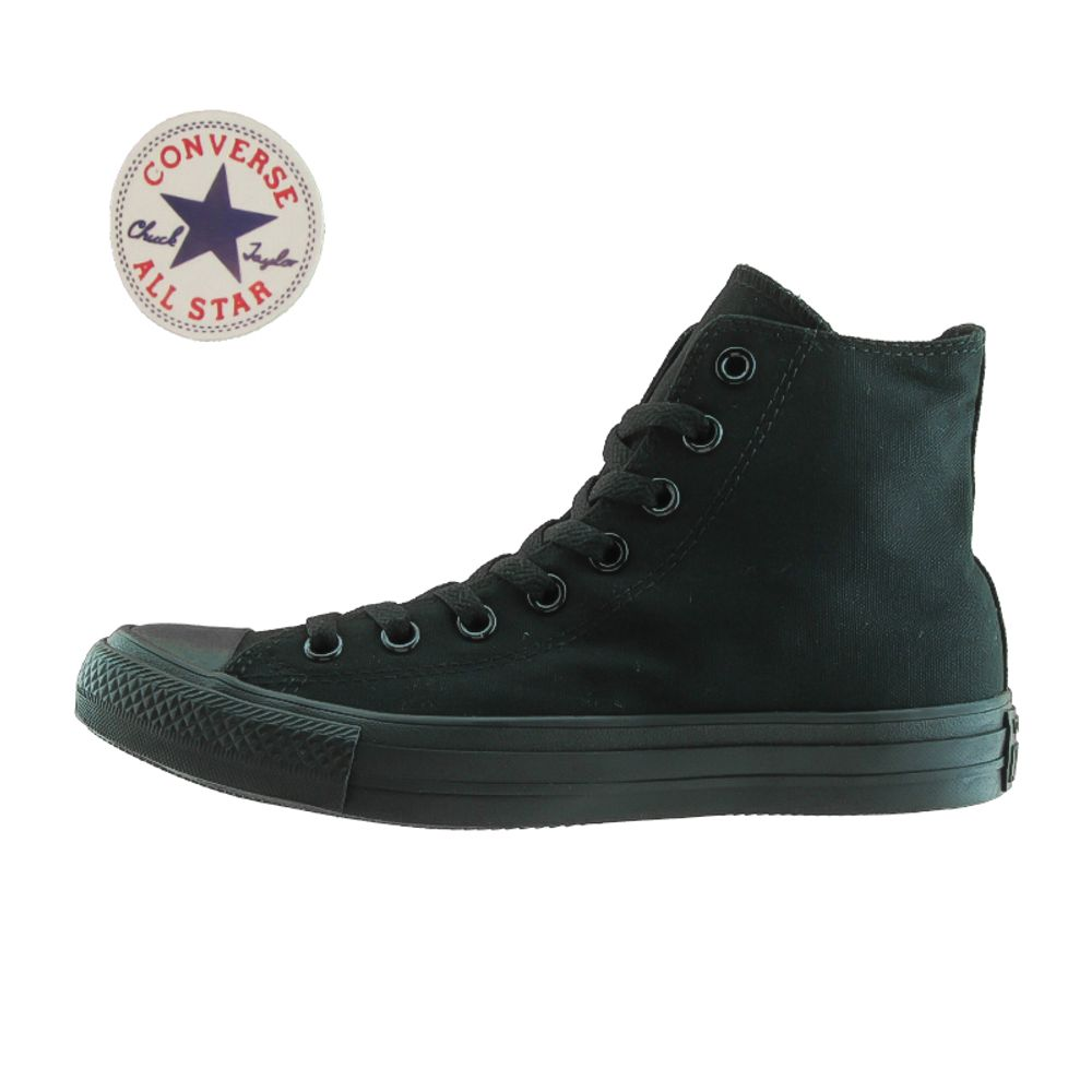 converse negras mujer 37