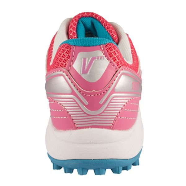 Zapatillas-Hockey-Cesped-Niñas-VOGEL-ROSA-BLANCO
