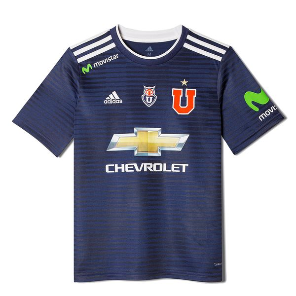 Camiseta-Universidad-de-Chile-Adidas-Niños-Local