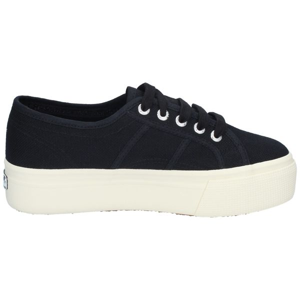 Zapatillas-Superga-LINE-UP-AND-DOWN-Negro-Blanco