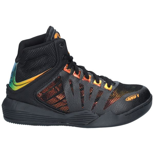 Zapatillas-Basketball-Niños-AND1-OVERDRIVE-Negro-Amarillo