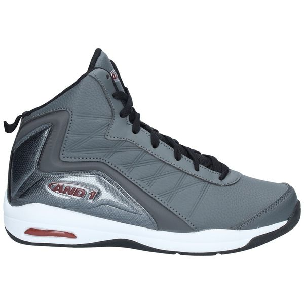 Zapatillas-Basketball-Hombre-AND1-MAD-RANGE-Gris
