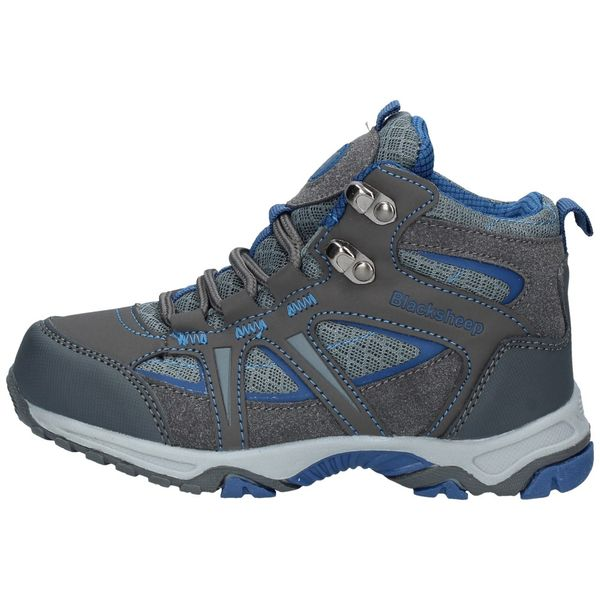 Zapatillas-Outdoor-Niños-BlackSheep-Hiking-Acero-Azul