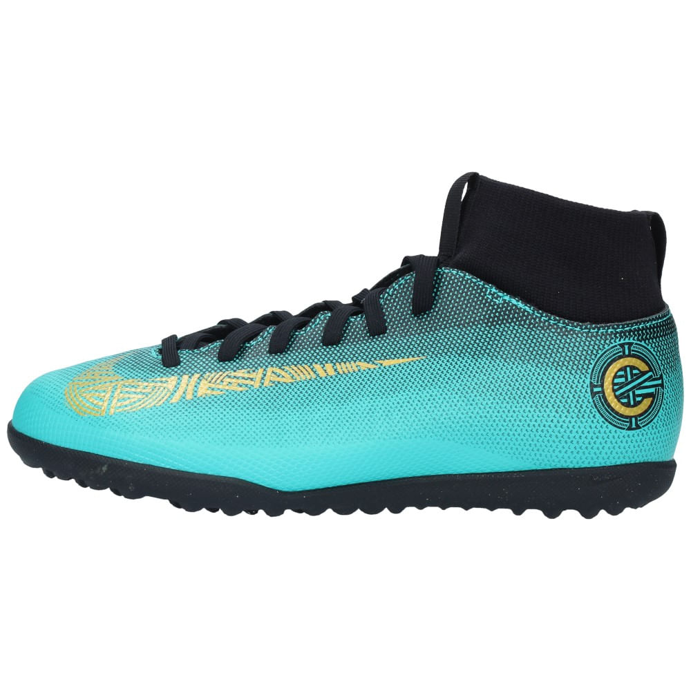 c8c5c5f8df2a Zapatillas Futbolito Nike Niños SUPERFLY 6 CLUB CR7 Calipso - Metro