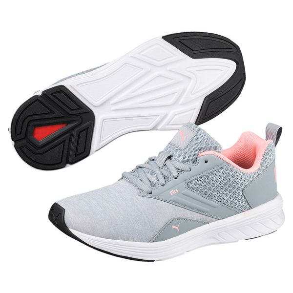 Zapatillas-Puma-Mujer-Running-IGNITE-Comet-Soft-Fluo-Gris