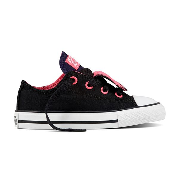 Zapatillas-Converse-Niños-CT-ALL-STAR-DOUBLE-TONGUE-Negra