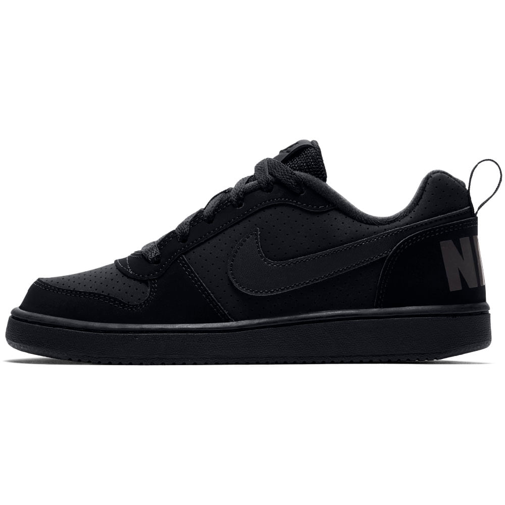 Zapatillas Niño Nike Urbana Court Borough Low Negra Circuit