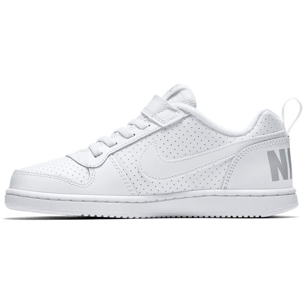 Zapatillas-Niño-Nike-Urbana-Court-Borough-Low-Velcro-Blanca