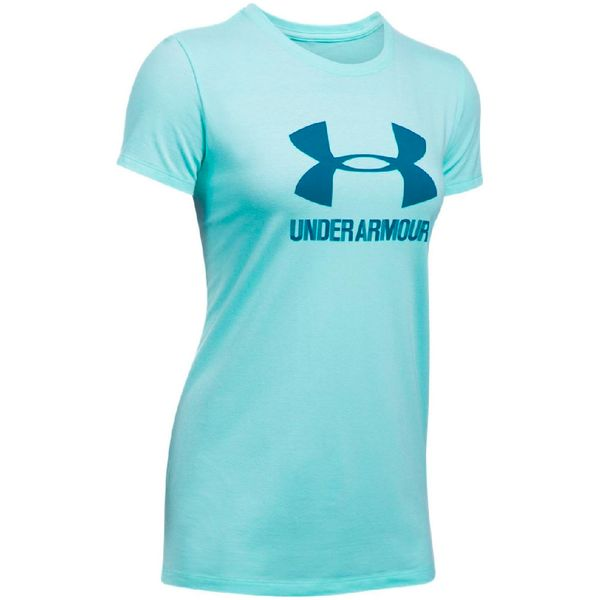 Polera-Mujer-Fitness-Under-Armour-Crew-Celeste
