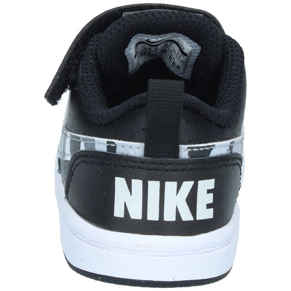 Zapatillas-Niño-Nike-Urbana-CourtBorough-Low-Velcro-Negro-TD