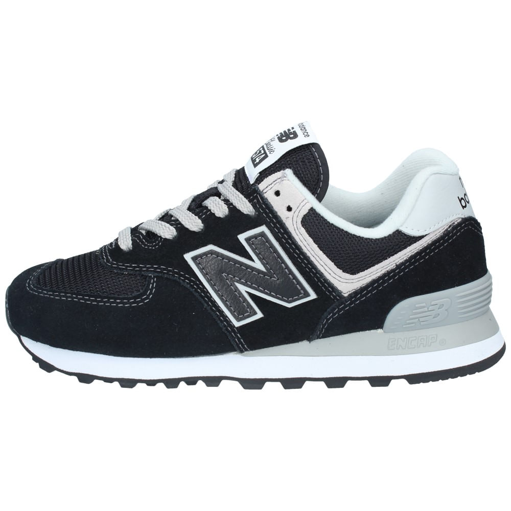 new balance mujer negra y gris