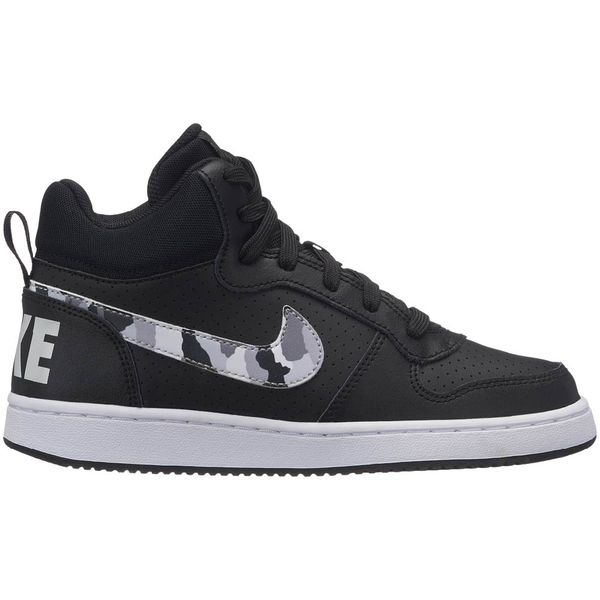 Zapatillas-Nike-Niños-GS-Lifestyle-Court-Borough-Mid-Negra
