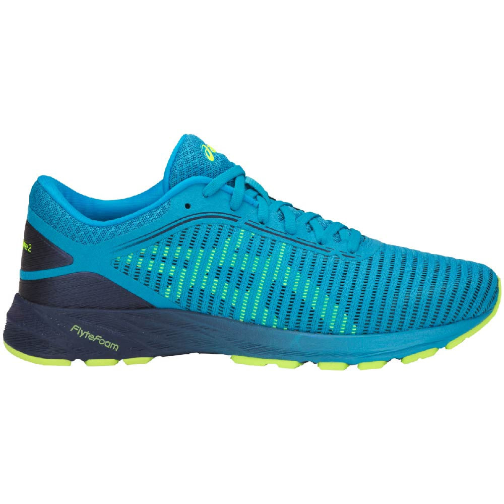 new product 1e685 2ff45 Zapatillas-Hombre-Asics-Running-DYNAFLYTE-2-Azul-Amarillo ...
