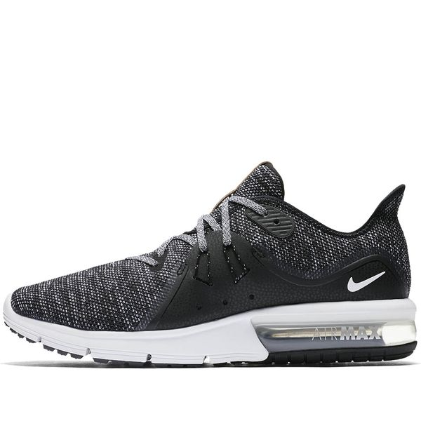 new arrival 1eee4 94d02 Zapatillas Hombre Nike Air Max Sequent Negro Blanco - NIKE -EUR42-USA8.5-UK7.5-CM26.5-CHILE41