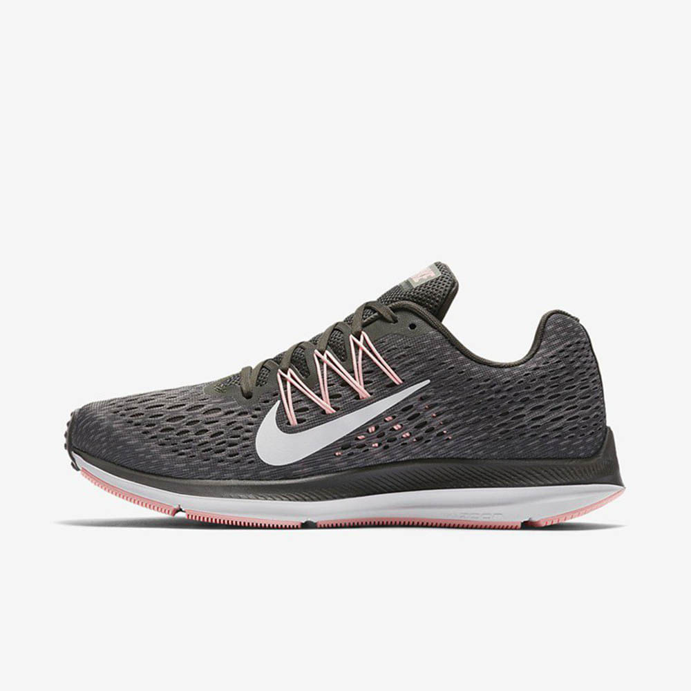 3517fe29c50 Zapatillas Mujer Nike Running Zoom Winflo Gris Rosa - Metro