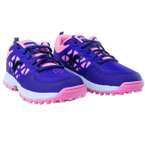 Zapatillas-Vogel-Junior-Hockey-Cesped-Mane-Violeta-Rosa