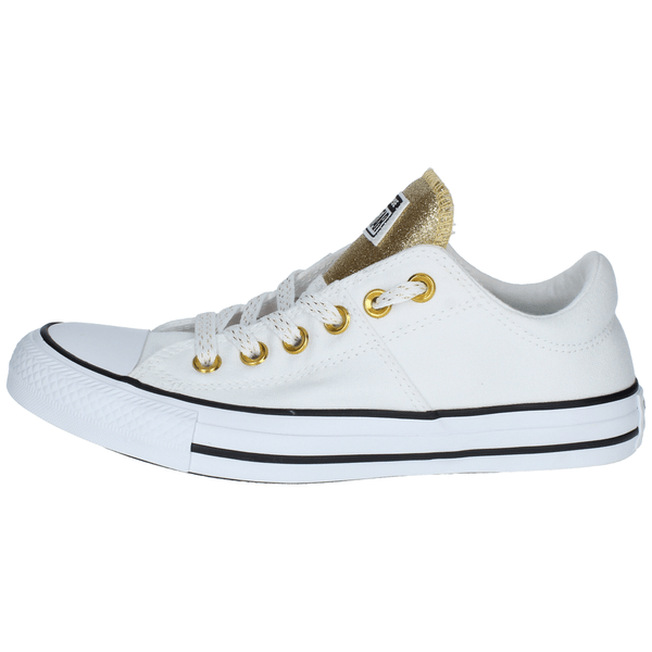 Mujer Chuck Converse Madison Blanco Star Gold Zapatillas Taylor All hQxBsrdtC