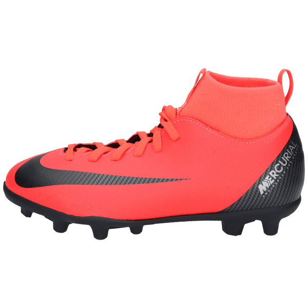 Zapatos-Futbol-Nike-Niños-CR7-JR-Superfly-6-Club-Rojo
