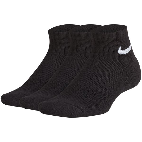 Calcetines-Nike-Niño-Performance-Cushioned-Quarter-Negro
