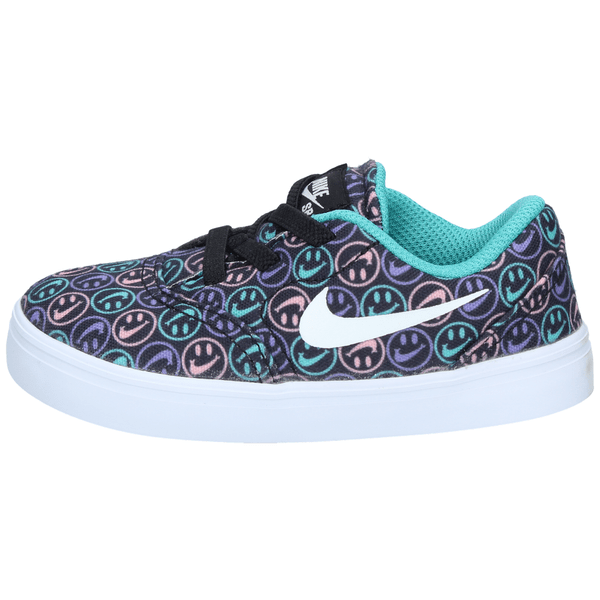Zapatillas-Nike-Niños-TD-Urbana-SB-Check-Canvas-Negra-Smile