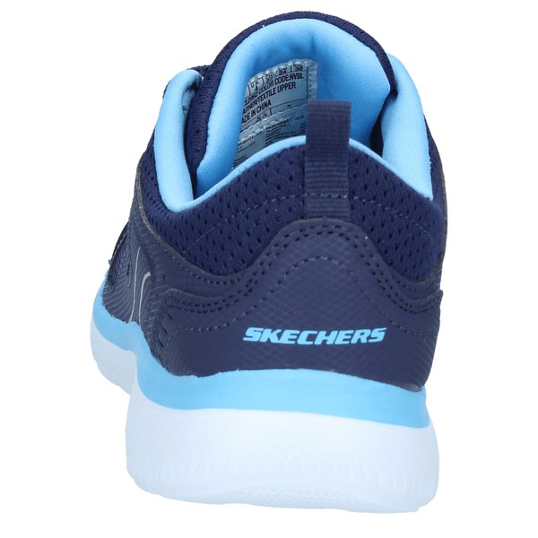 Zapatillas-Skechers-Mujer-Running-Summits-Suited-Azul-Navy